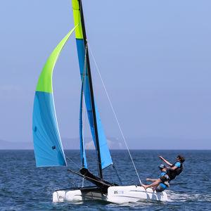 catamarán deportivo de recreo / para escuela / múltiple / doble trapecio