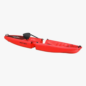 kayak sit-on-top / plegable / de recreo / 1 plaza