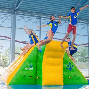 juego acuático rampa / inflable