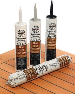mástique-cola de poliuretano / para cubierta de teca / para calfateo