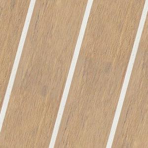 panel para revestimiento de cubierta / sintético / de teca / laminado