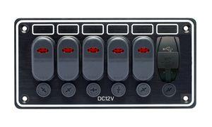 panel eléctrico para barco / estanco / con puerto USB