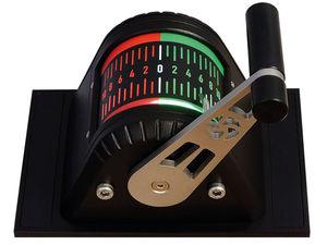 palanca de mando de motor / para propulsor / digital / con una sola palanca