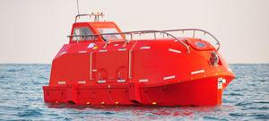 bote salvavidas cerrado / para buque