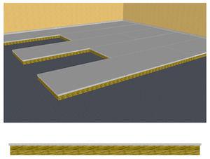 panel para suelo de buque