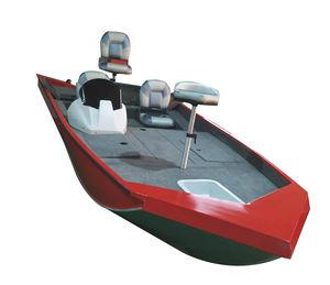bass boat fueraborda / de pesca deportiva / de aluminio / 4 personas máx.
