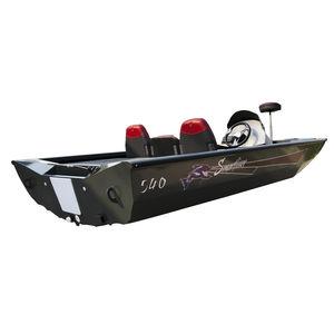 bass boat fueraborda / de aluminio / 5 personas máx.