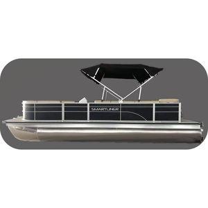 barco pontón fueraborda / de aluminio / 9 personas máx.