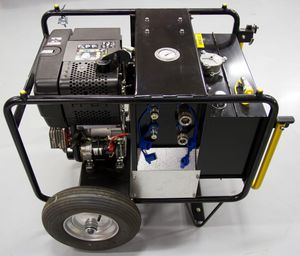 unidad de energía hidráulica para barco antipolución