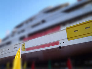 portón lateral para buque / para yate