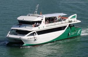 ferri de pasajeros para excursión turística / catamarán