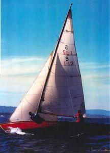 vela mayor / vela de proa / vela de viento portante / para velero tradicional