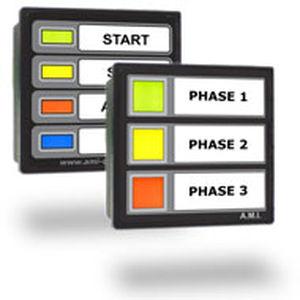panel indicador para buque