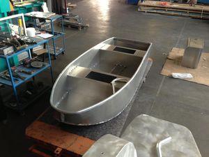 bay boat fueraborda / de pesca deportiva / de aluminio
