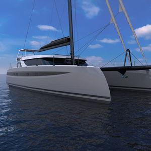 yate de vela catamarán / de gran crucero / de expedición / con popa abierta