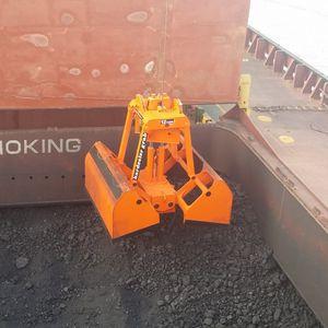 cuchara de descarga para buque granelero