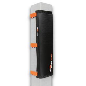 defensa para puerto deportivo / para pilotes / rectangular / rellena de espuma