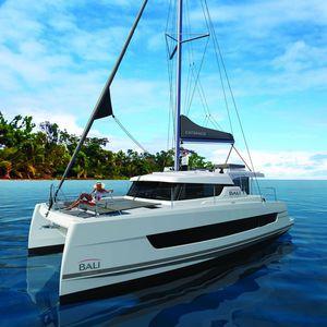 catamarán / de crucero / con fly / con 3 camarotes