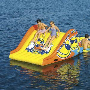 juego acuático tobogán / inflable / flotante