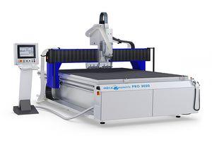 centro de mecanizado CNC / de 3 ejes / vertical / para plástico