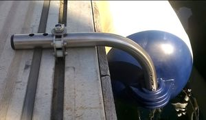 defensa para barco / de pantalán / cilíndrica / inflable