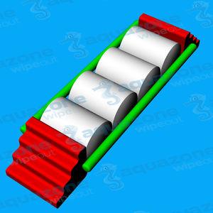 juego acuático colchón / barra de equilibrio / pista de carrera / cojín