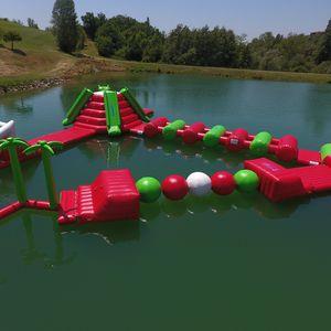 juego acuático boya / barra de equilibrio / pista de carrera / bola