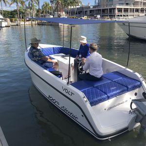 barco open eléctrico