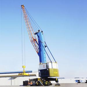 grúa portuaria / para astillero naval / móvil