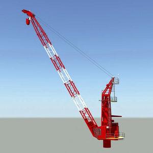 grúa para buque / para carga pesada / offshore