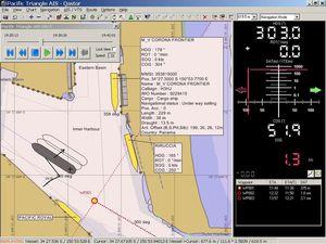 software de navegación / de análisis / de registro / AIS