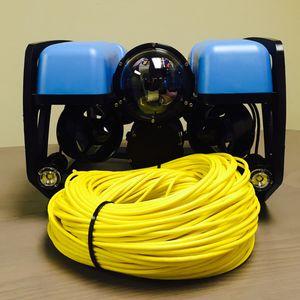 cable eléctrico / de mando / submarino / para ROV
