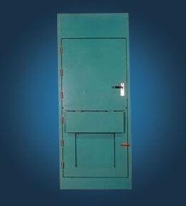 puerta para buque / doble / de aluminio