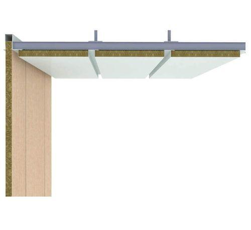 panel sándwich para el acondicionamiento de buques / para techo de buque / aluminio / de acero