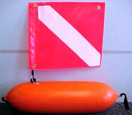 boya para la señalización de buceo / marca especial / cilíndrica / de espuma