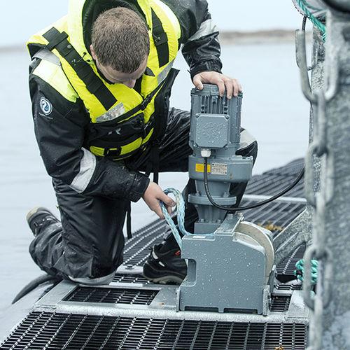 chigre para la acuicultura / motor eléctrico