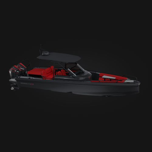 barco open fueraborda / bimotor / open / con consola central