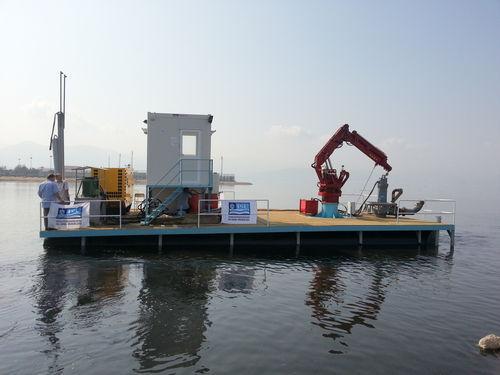 gabarra de trabajo / barco para acuicultura