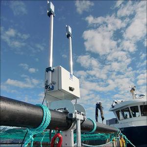 sistema de vigilancia para la acuicultura / inalámbrico