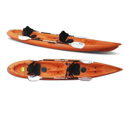 kayak sit-on-top / rígido / de recreo / de pesca