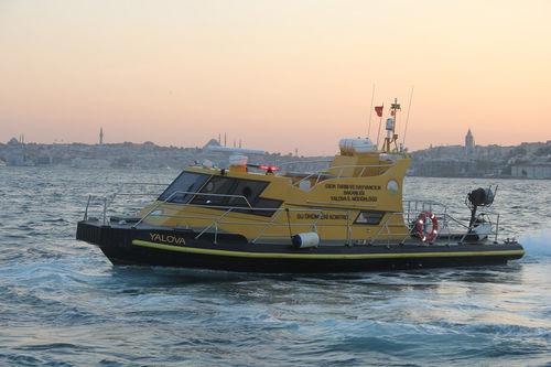 barco profesional barco de vigilancia / intraborda / de PEAD