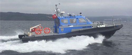 barco profesional barco de vigilancia - Izmir Shipyard