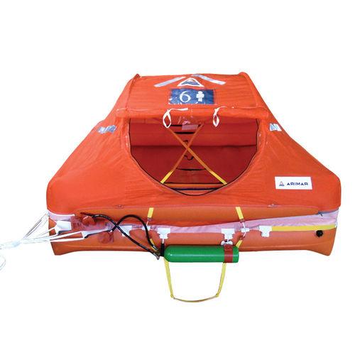 balsa salvavidas para barco / 6 plazas / 8 plazas / 4 plazas