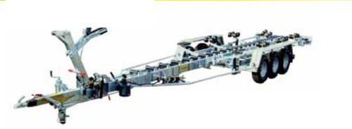 remolque de manipulación / para astillero naval / hidráulico / de rodillos