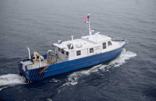 barco profesional arrastrero