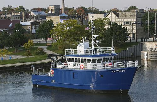 barco profesional barco de investigación científica / barco de investigación oceanográfica / intraborda