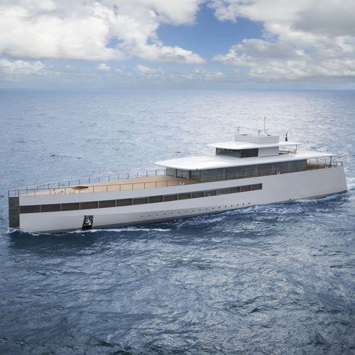 megayate de crucero / con caseta de timón / de aluminio / a medida