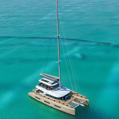 yate de vela de crucero / con fly / con deck saloon / con 4 camarotes