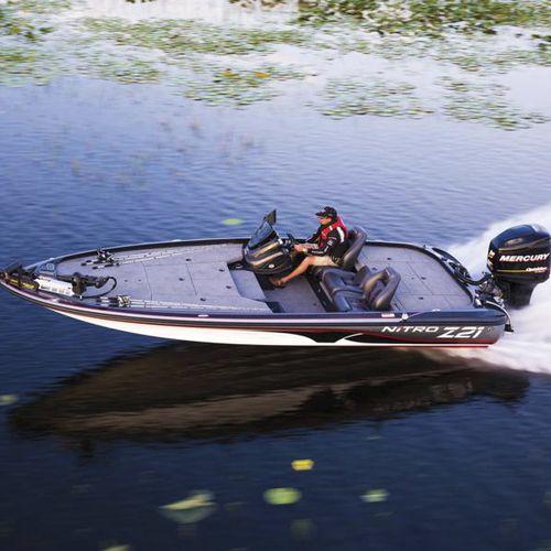 bass boat fueraborda - Nitro