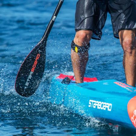 pala para stand-up paddle-board / de aguas tranquilas / simétrica / simple